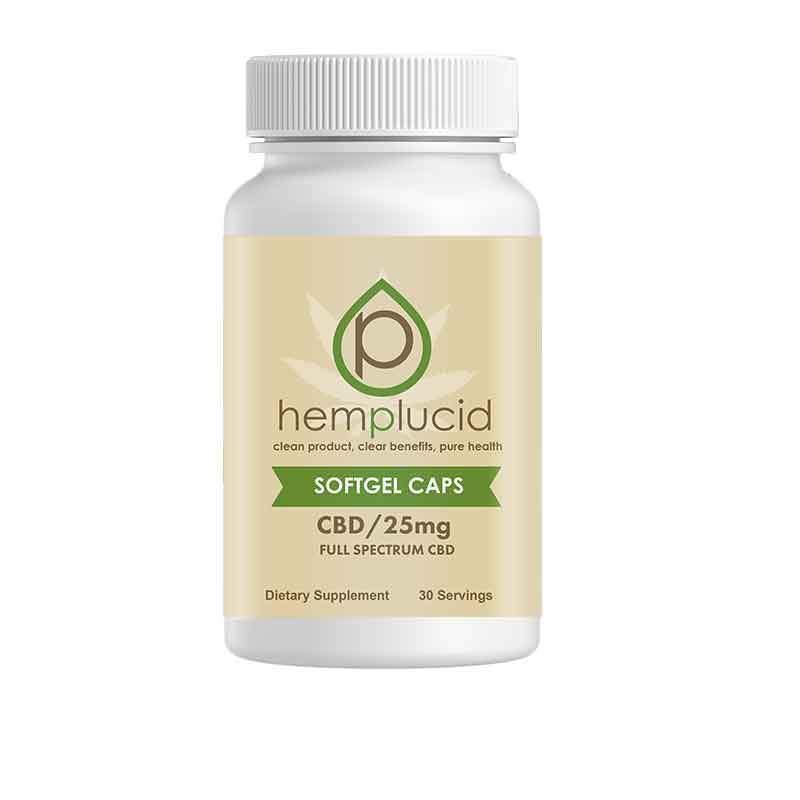 Hemplucid Soft-gel CBD