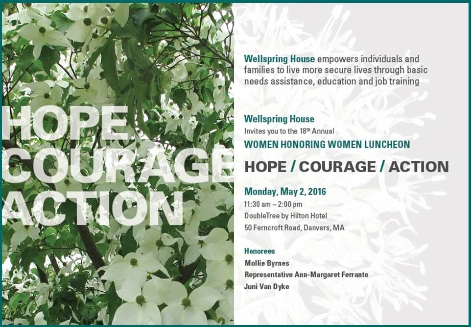 Hope, Courage, Action: Wellspring's 18th Annual Women Honoring Women Luncheon