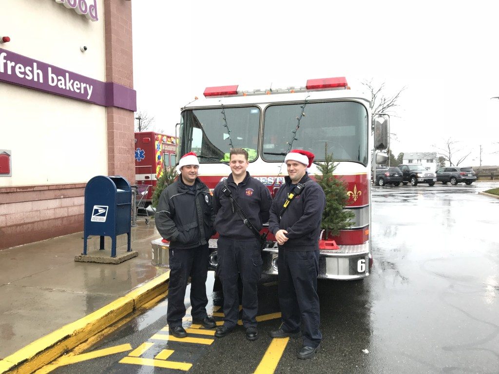 Firefighters Local 762 Host 5th Annual Boot Drive in Support of Wellspring's Holiday Store.