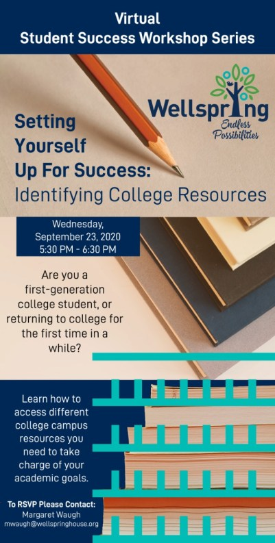 Register Today: Upcoming Virtual Student Success Workshop