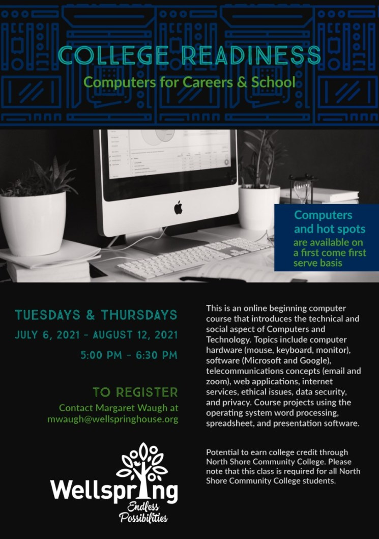Registration is now open for ourVirtual SummerAdult EducationClasses.