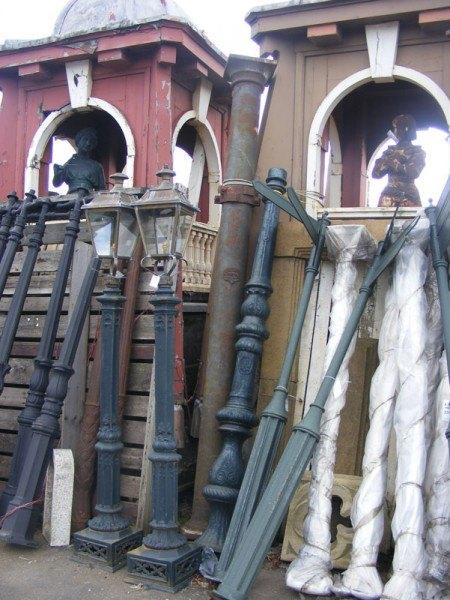 Cast iron columns  Wells Reclamation