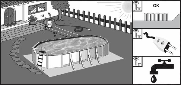 PREPARAZIONE DEL TERRENO piscine fuori terra