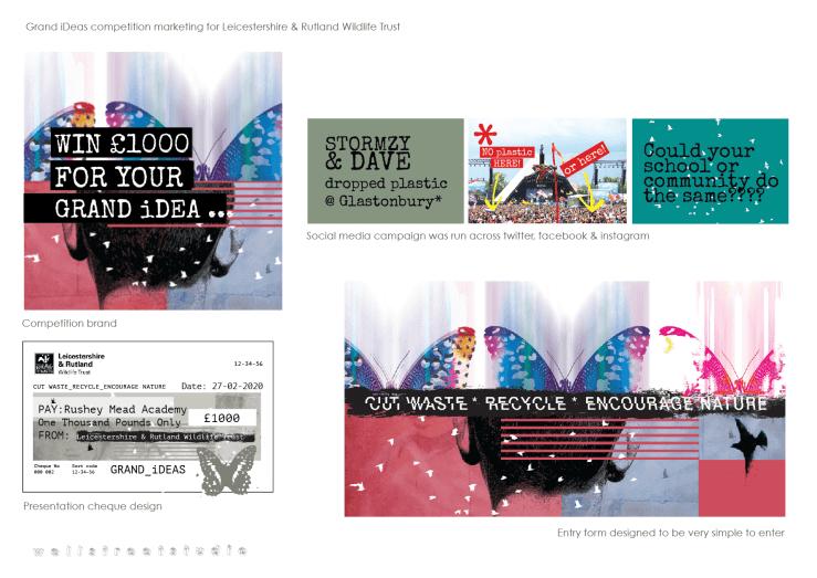 Illustration & design for competition marketing