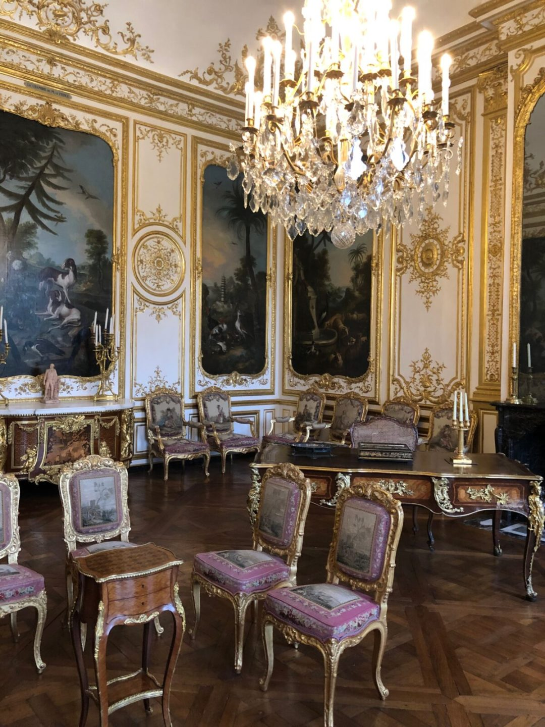 chateau de chantilly tableau