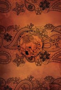 Boho Print Paisley Elephant art print Illustration Art ...