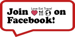 Join the LOVE EAT TRAVEL Facebook group!