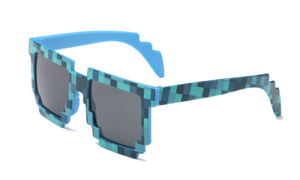 Minecraft Pixelated Sunglasses for Kids