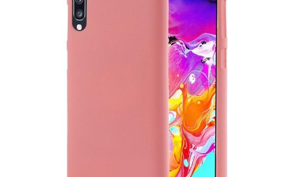 Soft Feeling Cover Galaxy A70 Coral