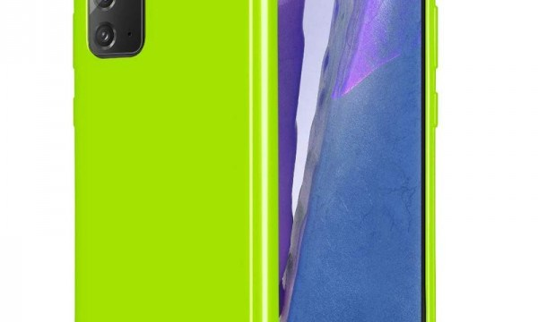 Jelly Cover for Galaxy Note 20 Lime Green