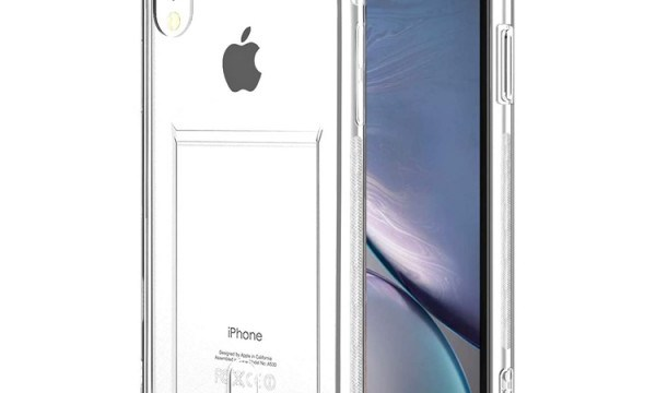 Transparent Cover With Card Slot iPhone XR