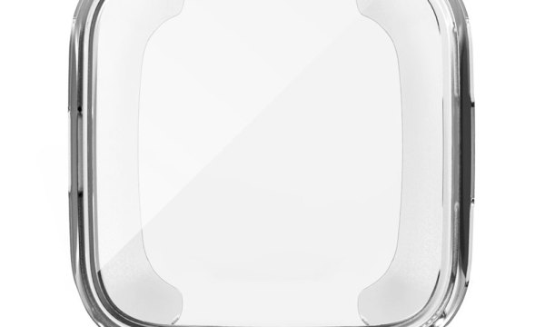 Protective Case and Screen Protector for Fitbit Versa Clear