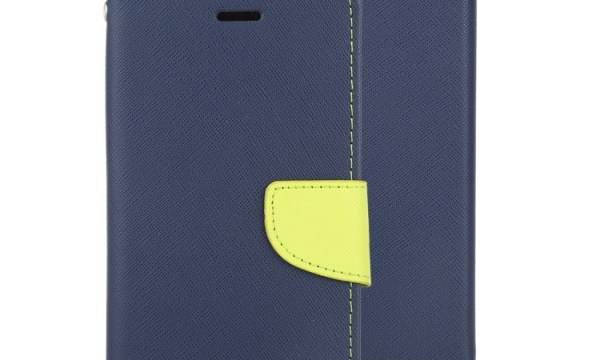 "Fancy Diary Cover iPhone 12 Mini 5.4"" Navy"