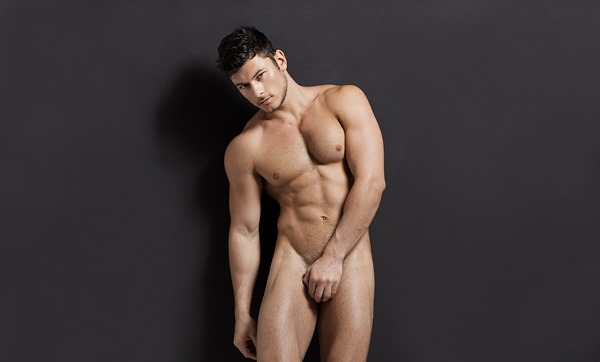 male model Daniel Garofali photographed by Kevin McDermott