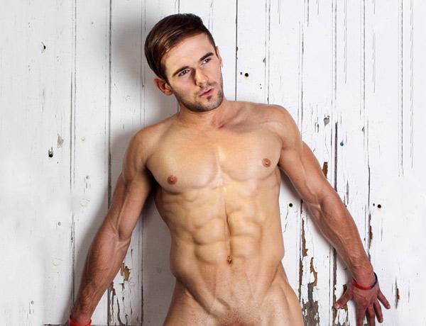 male model Luke Baker from Dreamboys by Dylan Rosser