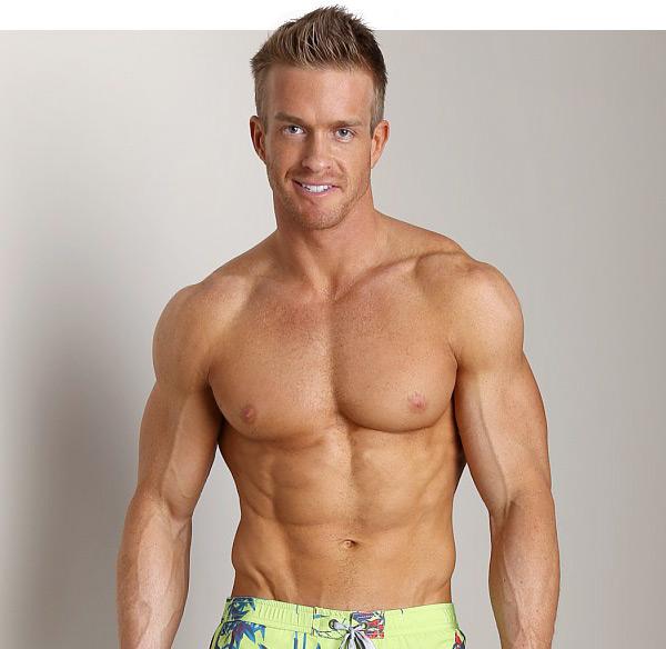 male fitness model james ellis