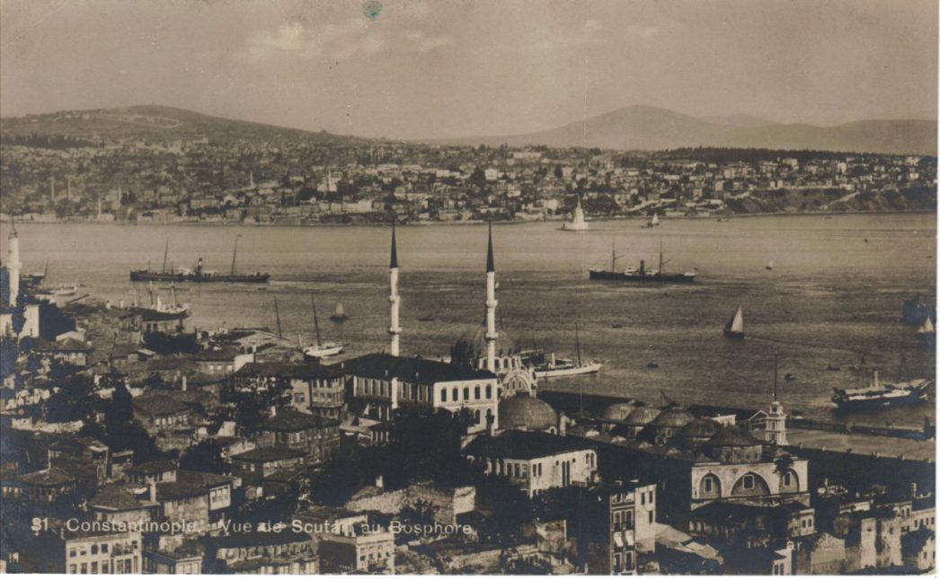 1910s Istanbul Panoramic View of Istanbul