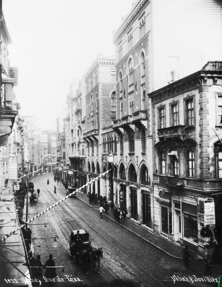 Istiklal Avenue in the 1910s