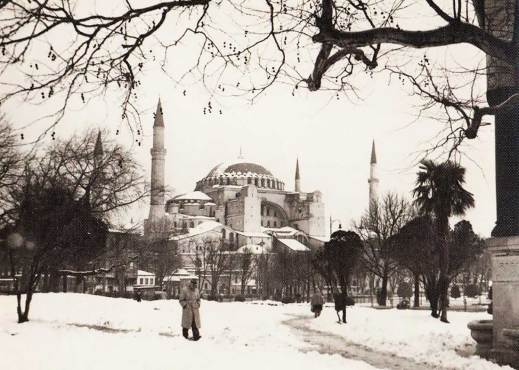 A Winter Time Hagia Sofia