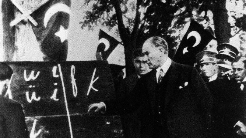Atatürk and Modern Turkish Alphabet