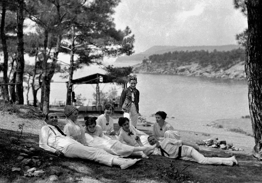 Barry family group at Büyükada