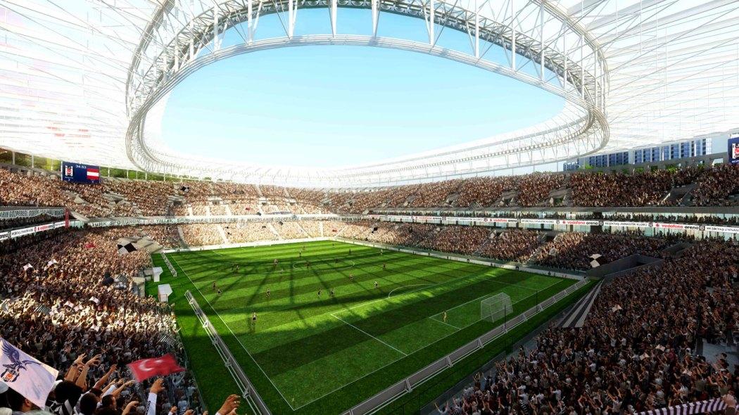 Beşiktaş Vodafone Area Inside