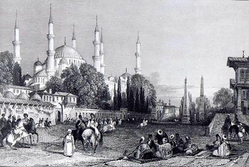 Blue Mosque Gravure