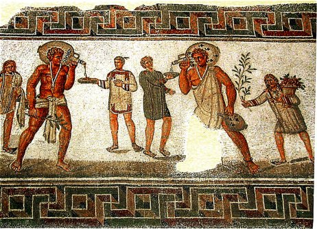 Byzantine spirits wine