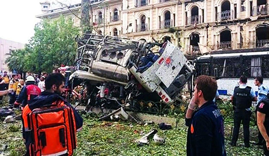 Car Bomb Attack Fatih