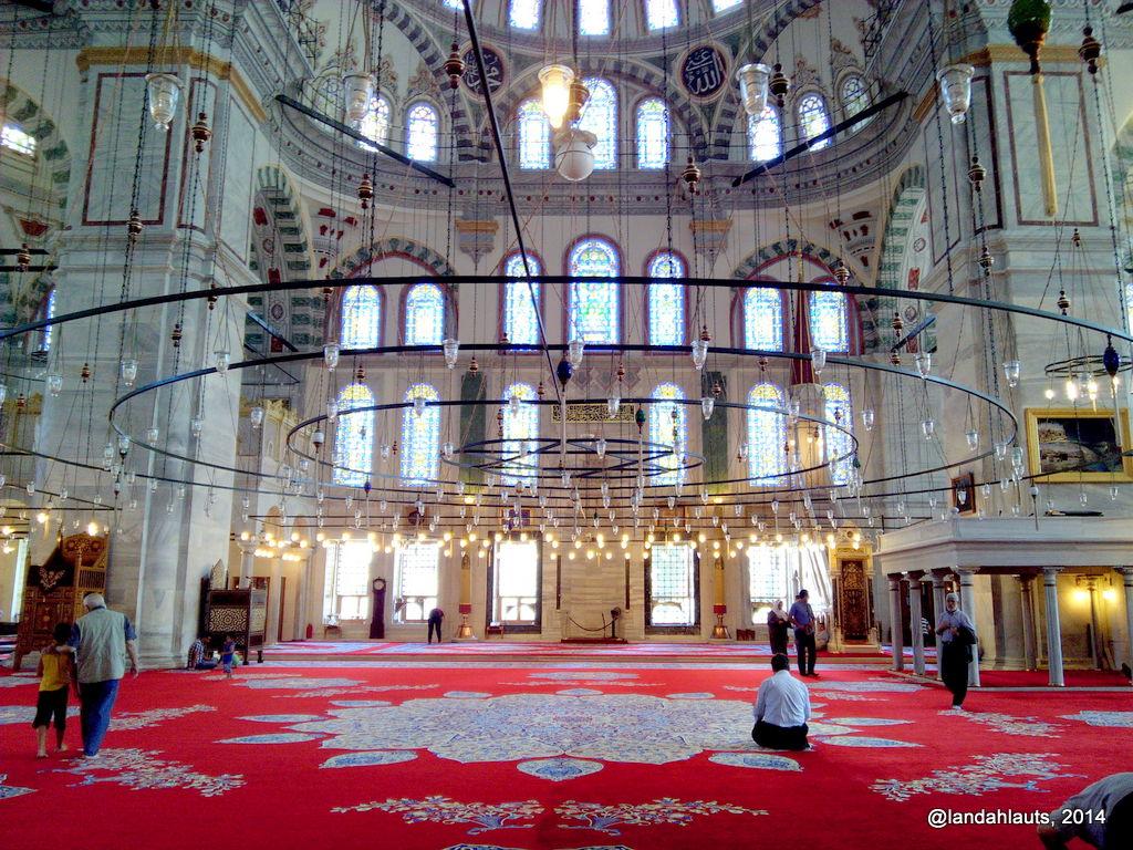Fatih Mosque Inside