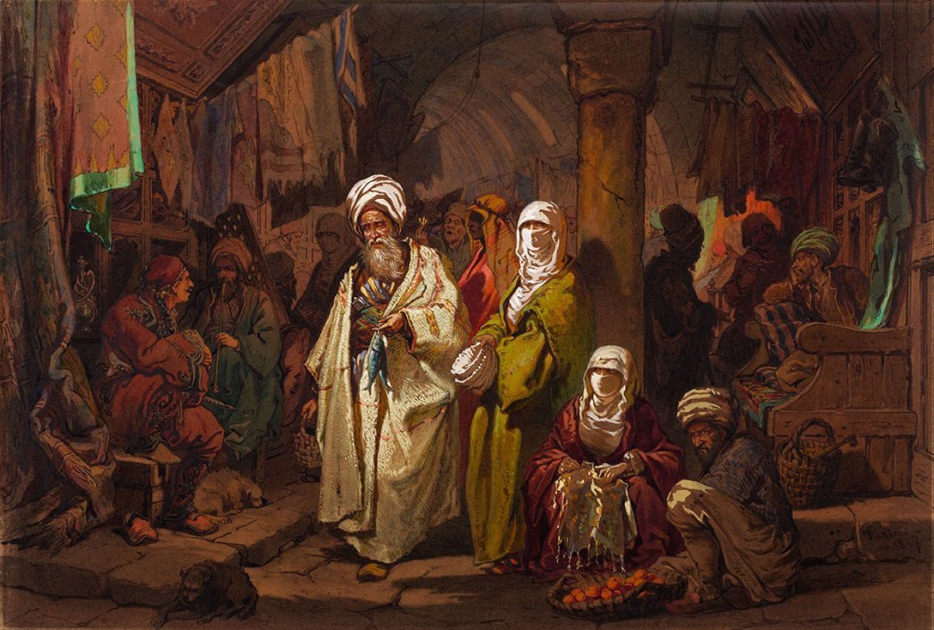 Grand Bazaar by Amedeo Preziosi