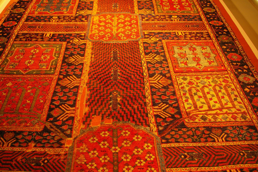 Iranian Carpet Design in The Turkish and Islamic Art Museum