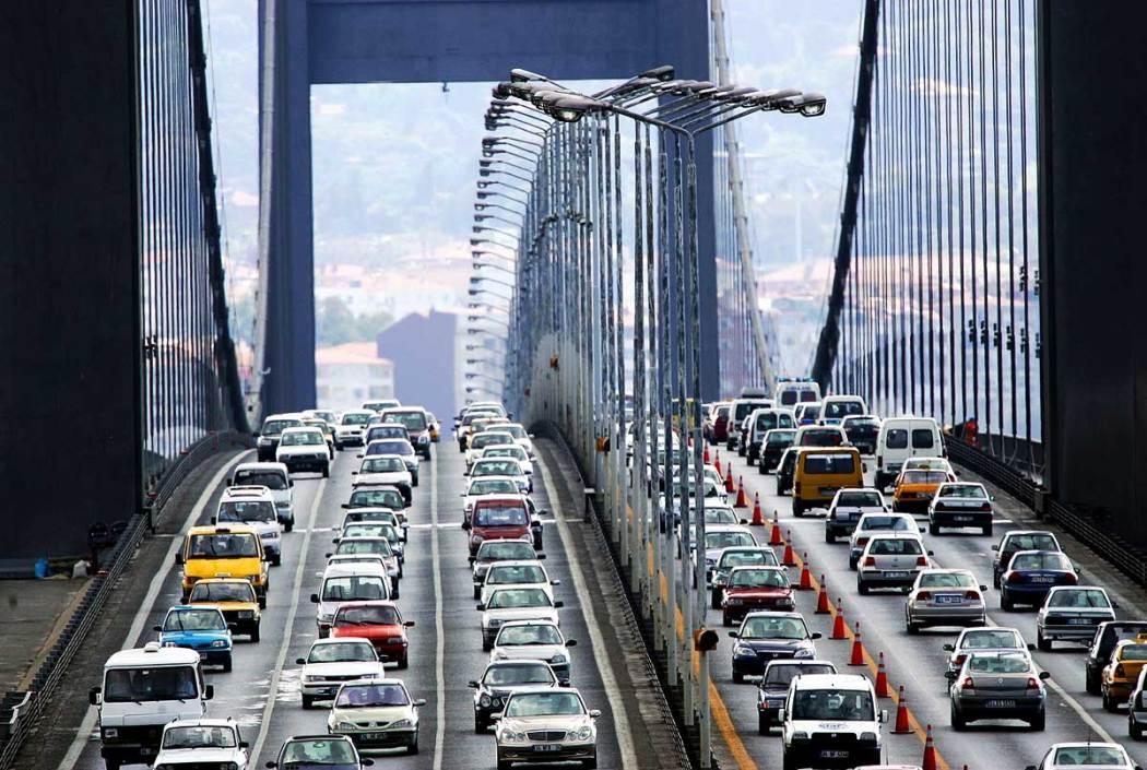 İstanbul Bridge Traffic