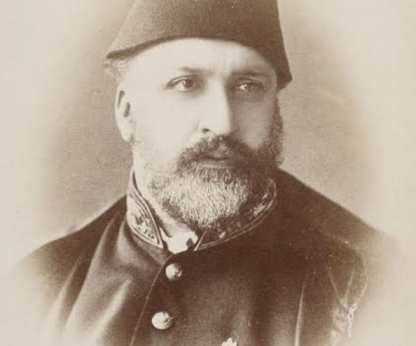 Portrait of Sultan Abdülaziz (ruled 1861-1876). His attitude towards photography was very liberal in comparison to that of Abdülhamid II (ruled 1876-1909), under whom's rule there was much more censorship.