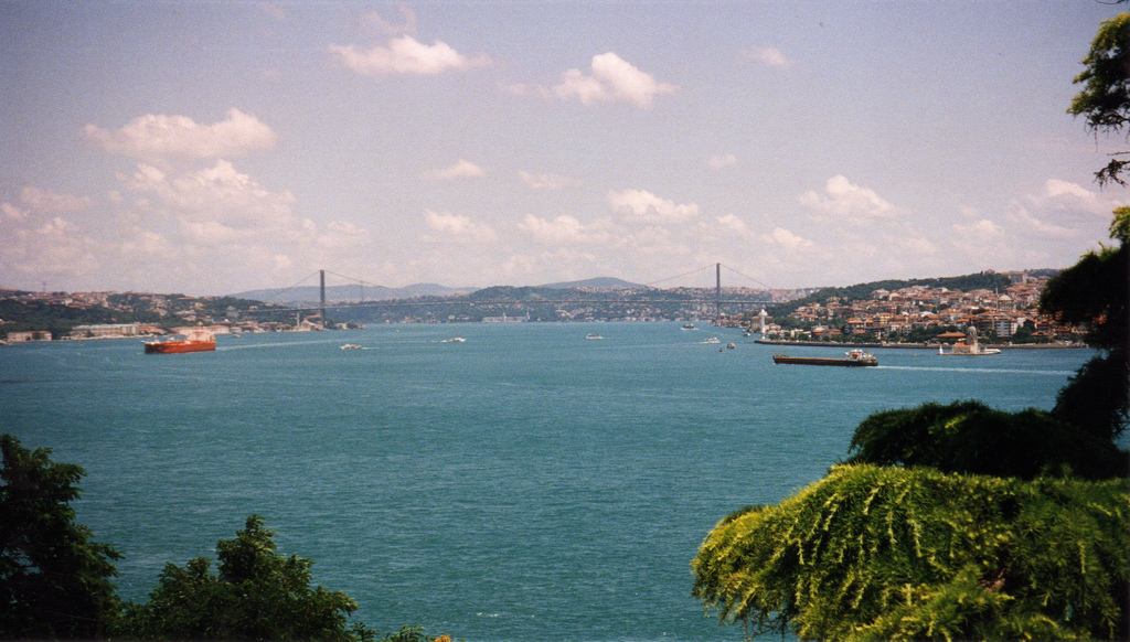 Topkapı Palace and Bosphorus