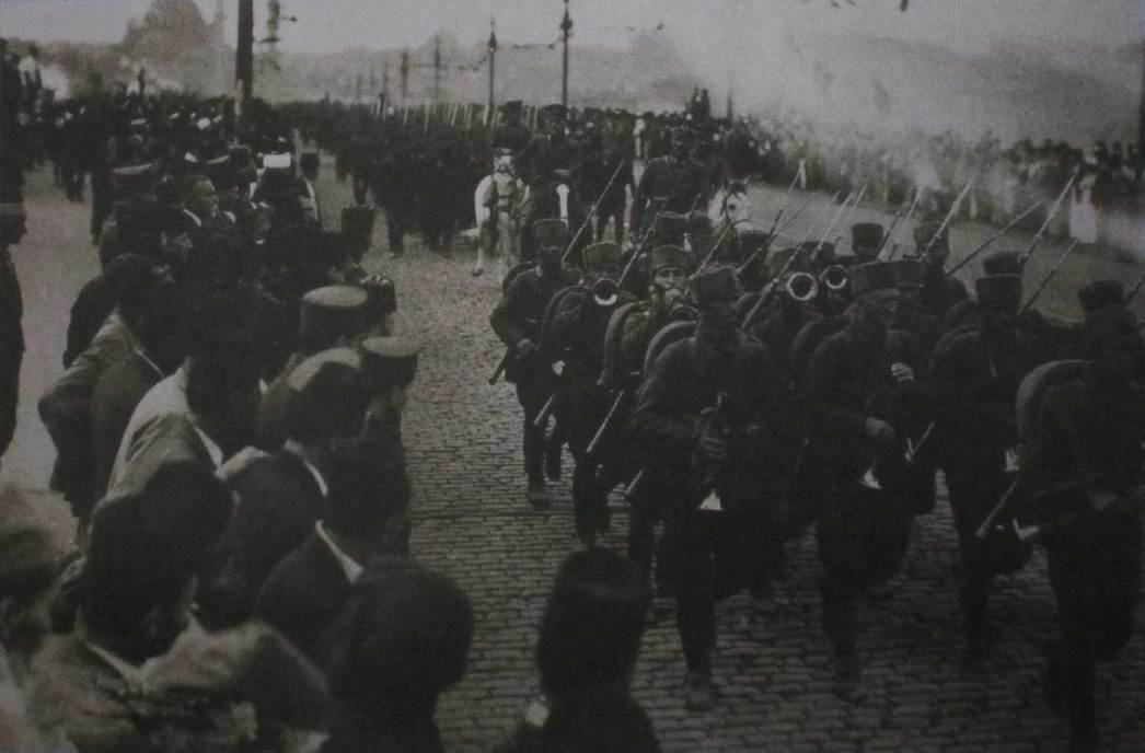 Turkish troops entered Constantinople