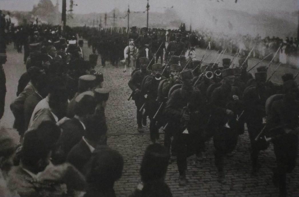 Türk birlikleri Konstantinopolis'e girdi