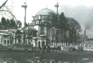 Eyüp Sultan Mosque in 1954