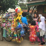 We love jakarta_tasha may_kids in jakarta_Selling toys in a kampung in Jakarta Indonesia