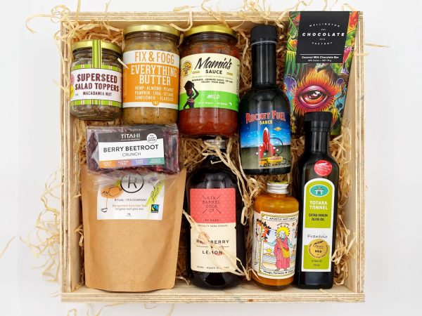 Vegan Gift Box With Local New Zealand Products