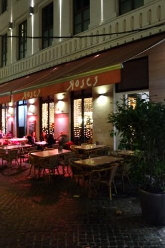 Das Roses von außen zwischen Kaiserpassage und Martinsplatz - so wie ihr es sicherlich kennt