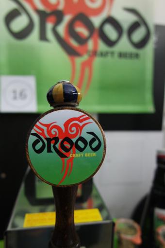 """""""Drood"""" hatte ein Brwon Ale dabei, gereift im Eichenholzfass"""