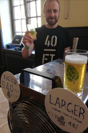 40 Feet Brewing Hopfendankfest Craft Beer Festival Köln Cologne German Craft Beer 40ft