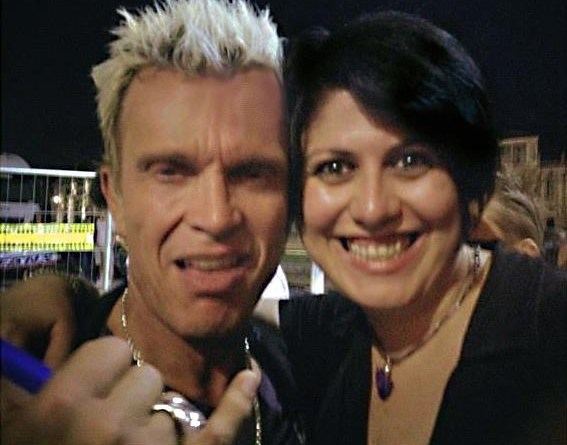billy Idol e Loretta briscione