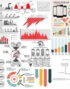 Vector diagram pie chart legend information histogram fan shaped designs data statistics circular charts also bar line graphic welovesolo rh