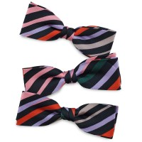 Kids bow tie Caterpillar junior black