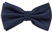 Bow tie navy blue repp | Bow ties | WeLoveTies.com