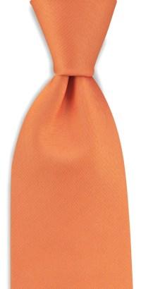 Necktie orange | Neckties | WeLoveTies.com