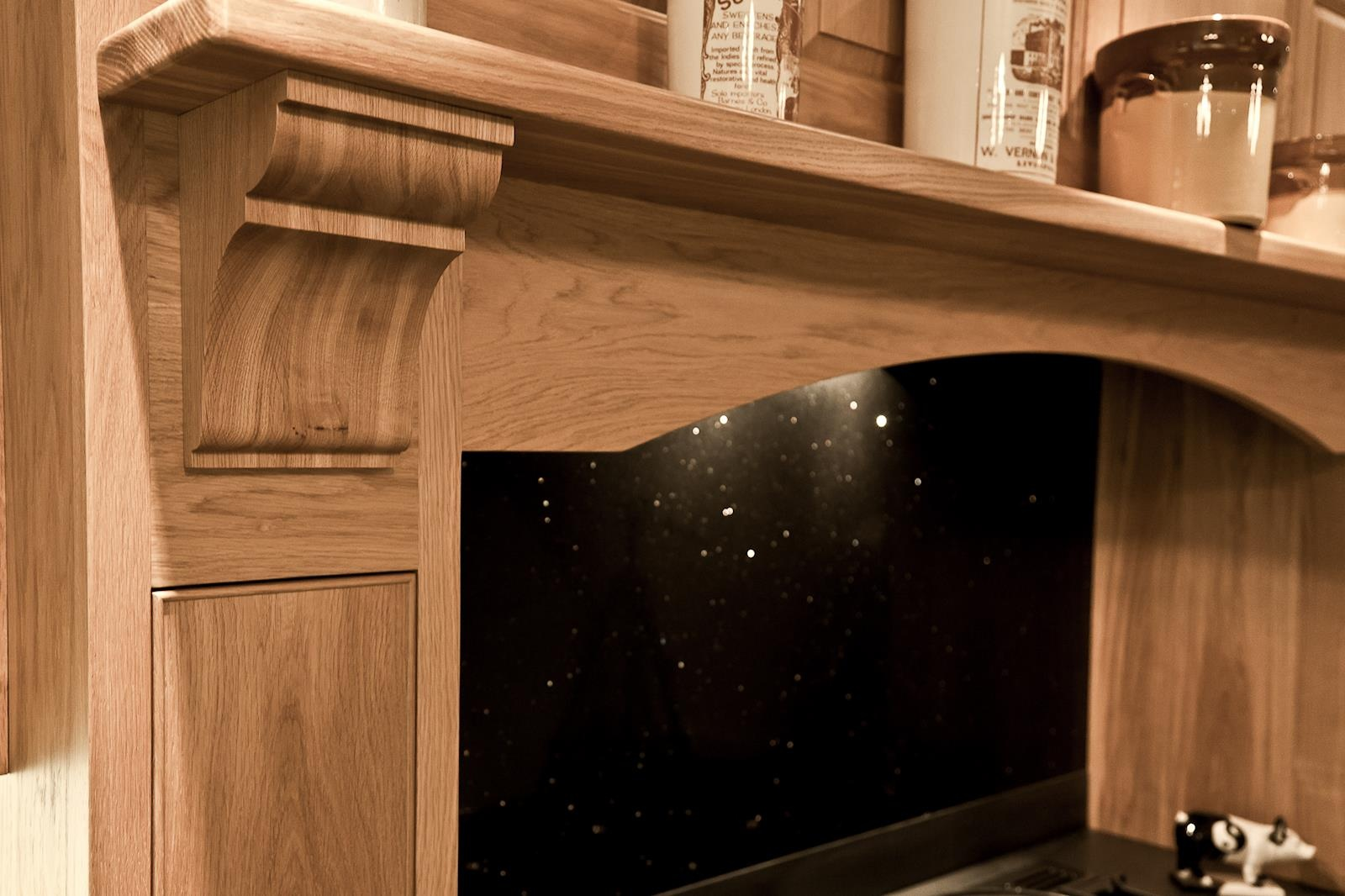 Oak Kitchen Pembrokeshire