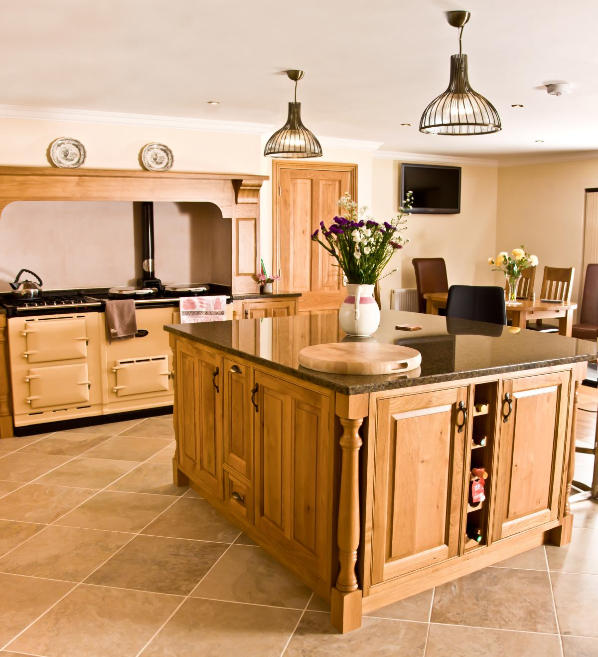 Oak Kitchen Newquay  Mark Stones Welsh Kitchens